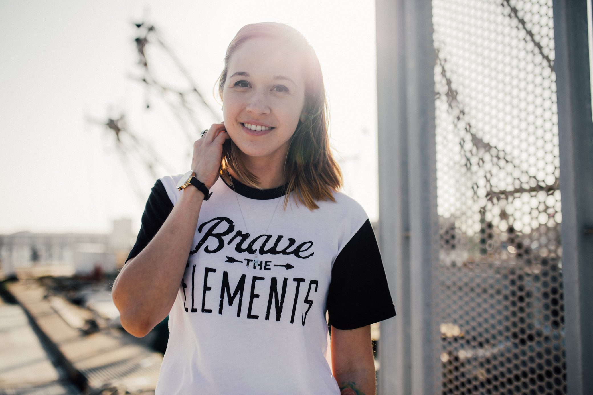 CNQR Product Feature: Brave The Elements Tee