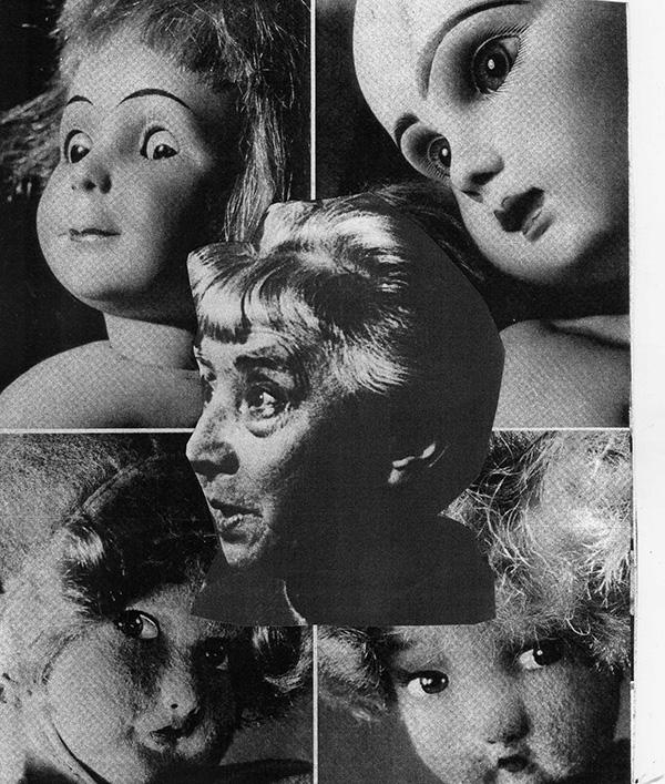 Collage © Liliane Giraudon