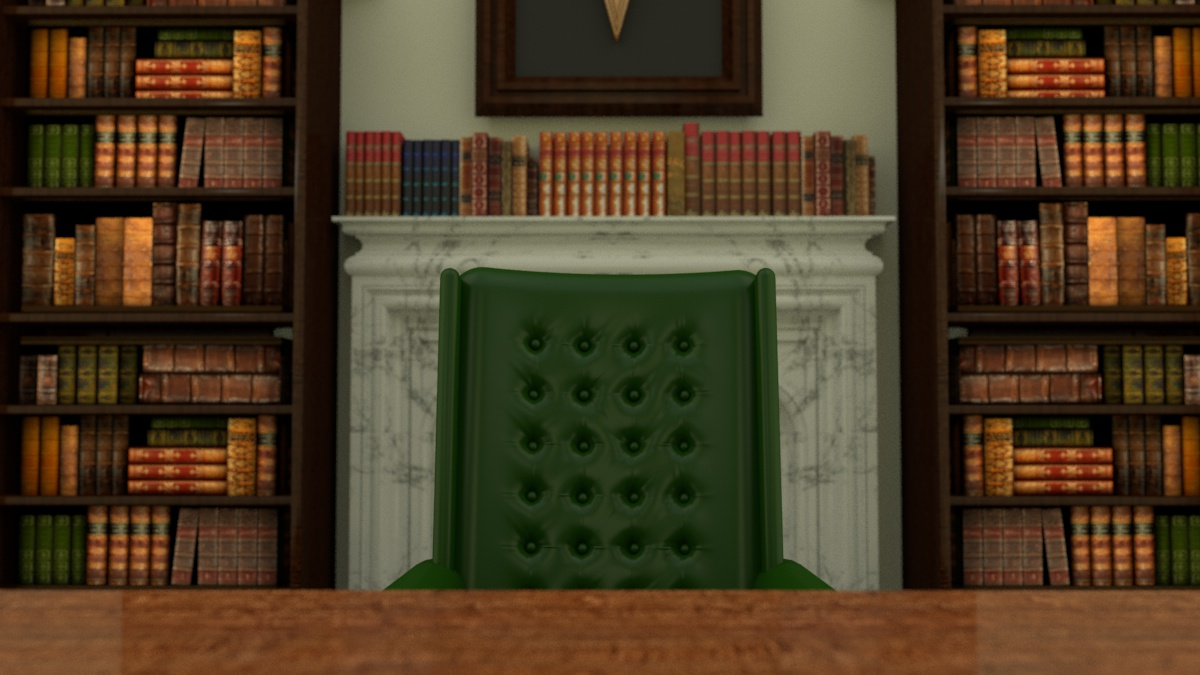 Crayola Headmaster Scene Pre-Production 3D Render I created the 3D render of the applicant's point of view