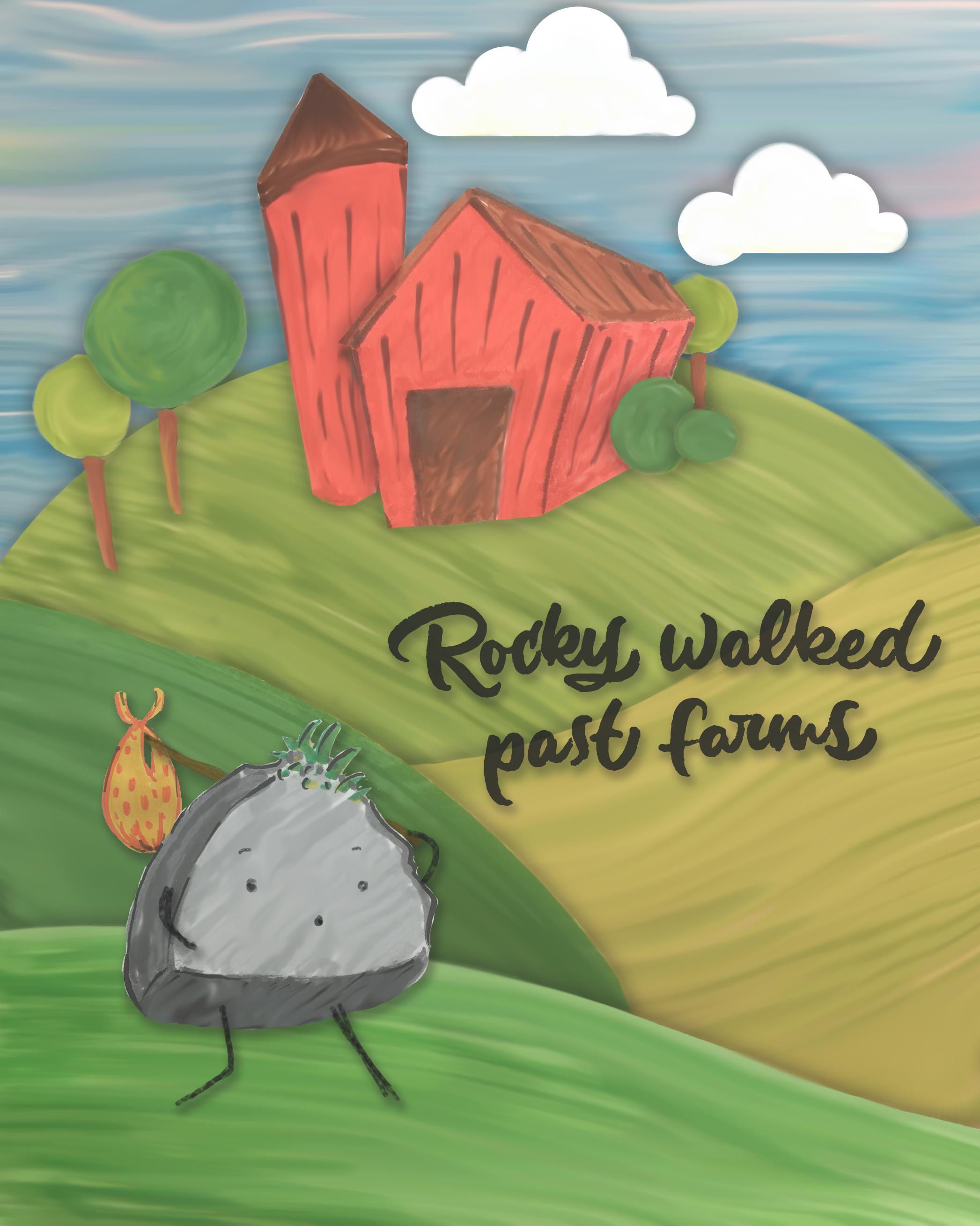 Rocky's Big Journey Children's Book by Noah Camp