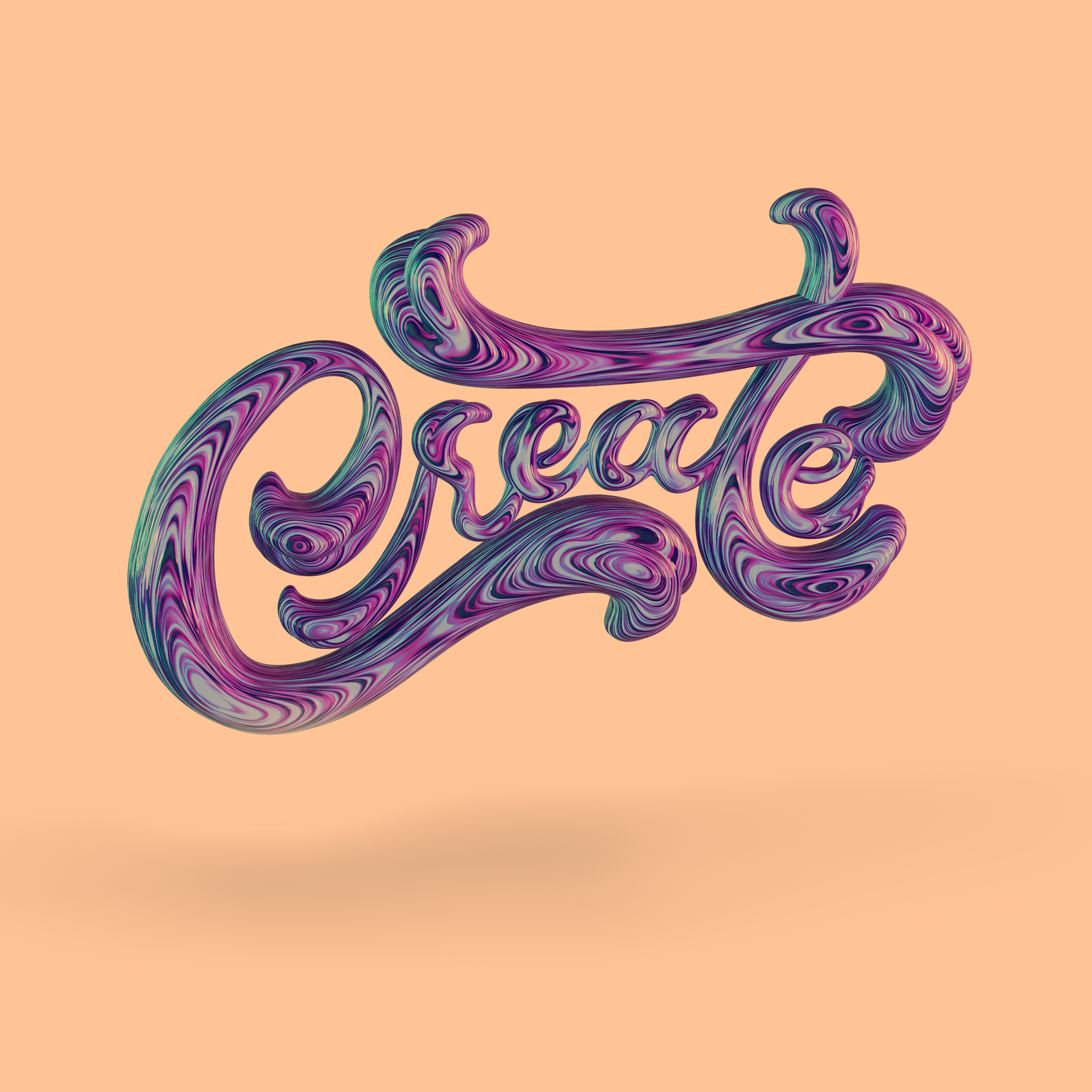 Create 3D Wooden Lettering by Noah Camp