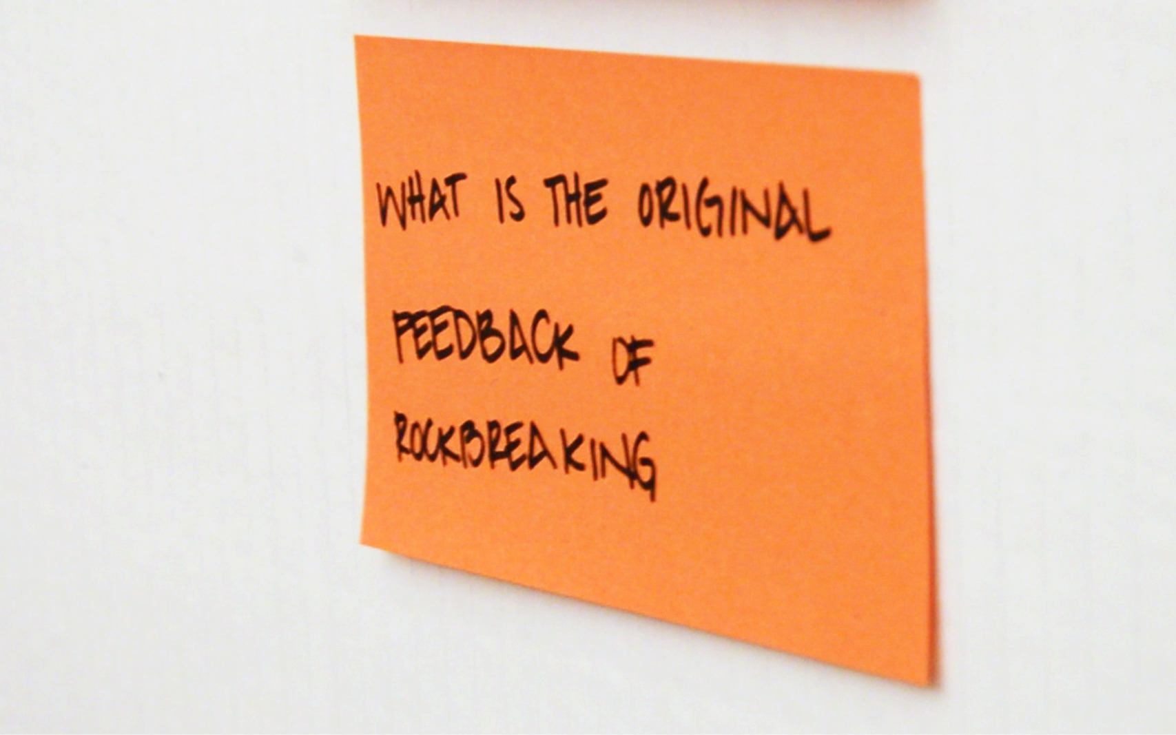 Key question from the field visits
