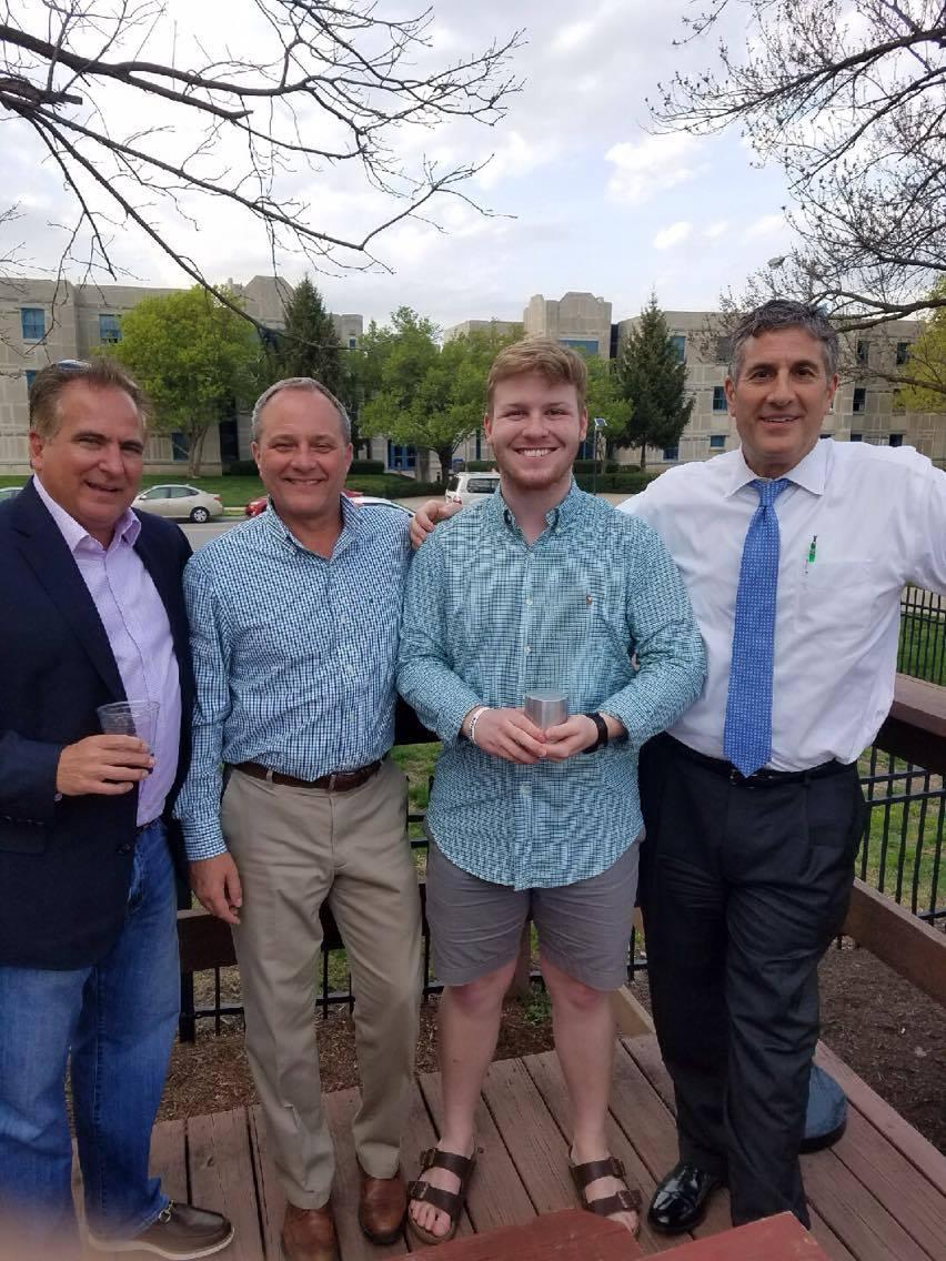 Pictured:L to R Dean Theofanis, Dan Brown, Eric Davidson, and Mark Kugar