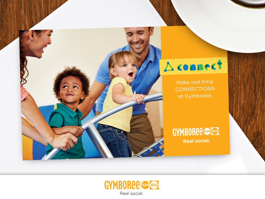 Gymboree Play & Music uses direct mail extensively to reach their customers