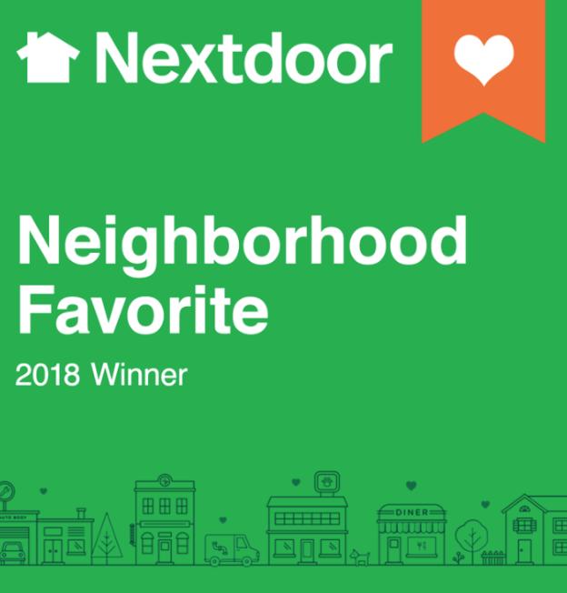 Nextdoor Neighborhood Favorite 2018    Best Gym in Calistoga