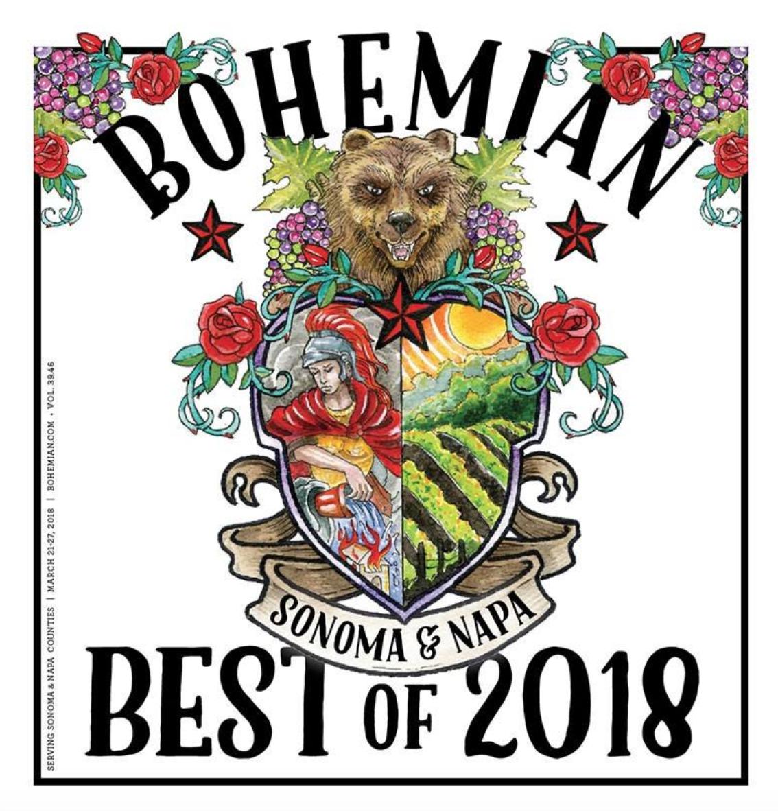 North Bay Bohemian Best of 2018    Best Personal Trainer in Napa Valley: Donavan Almond