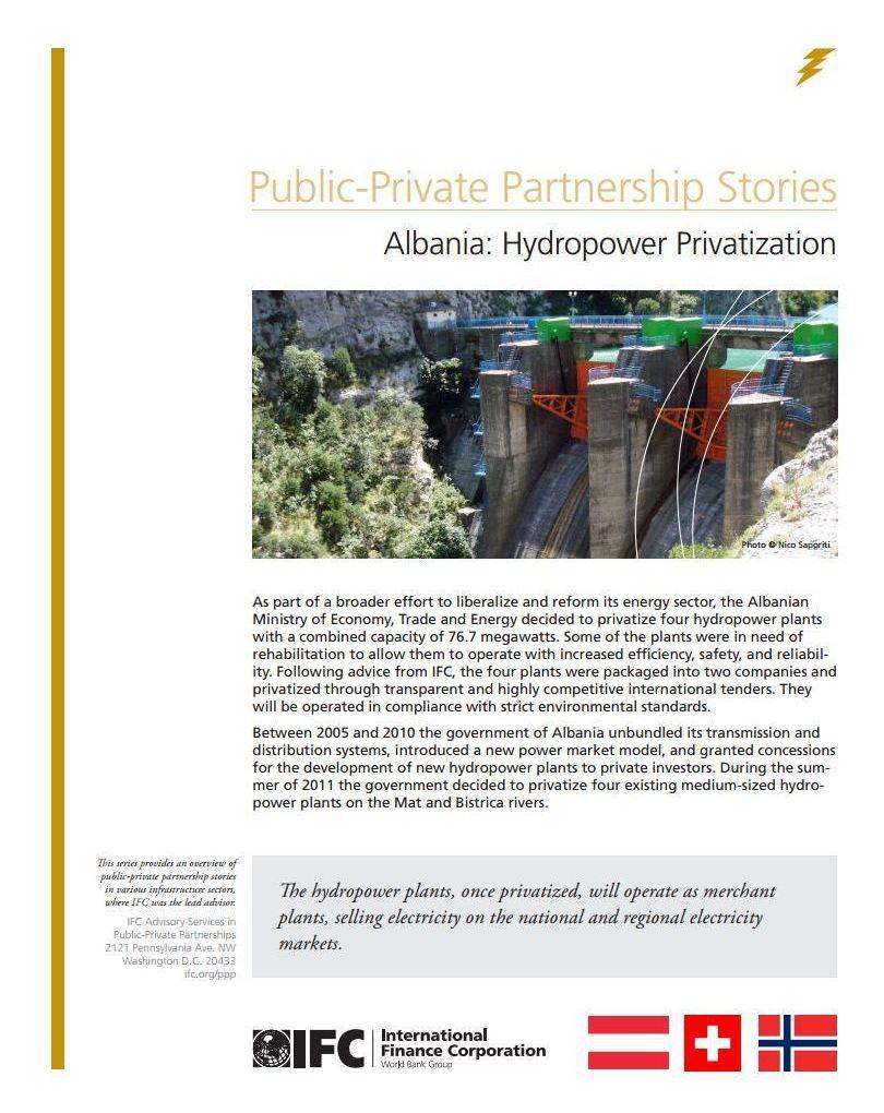 Albania: Hydropower Privatization