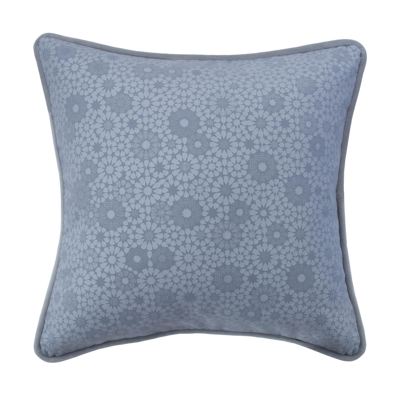 "Maroc, 19"" Pillow, Baby Blue"