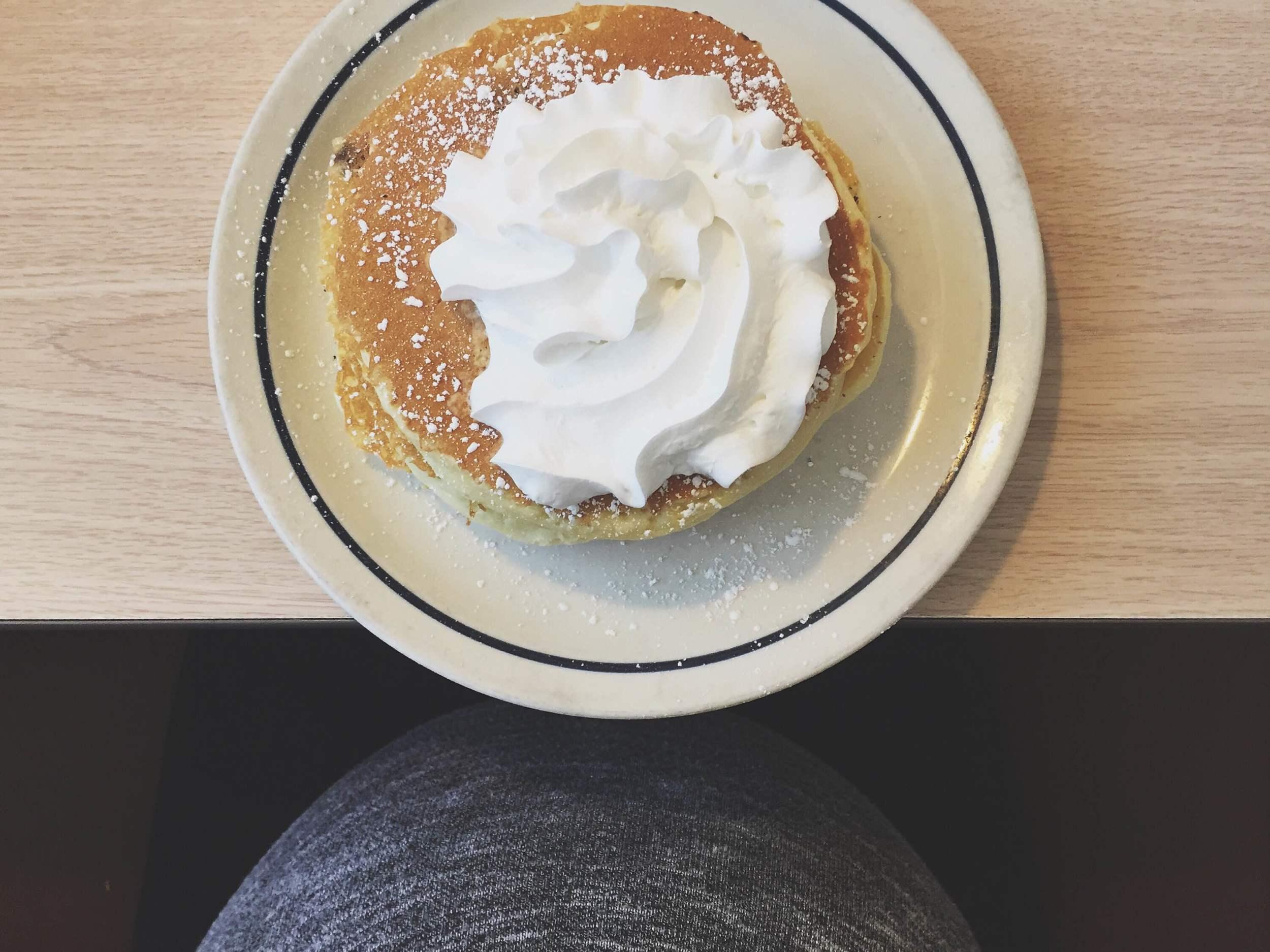 DAY 27- i've got chocolate chip pancakes on my mind.