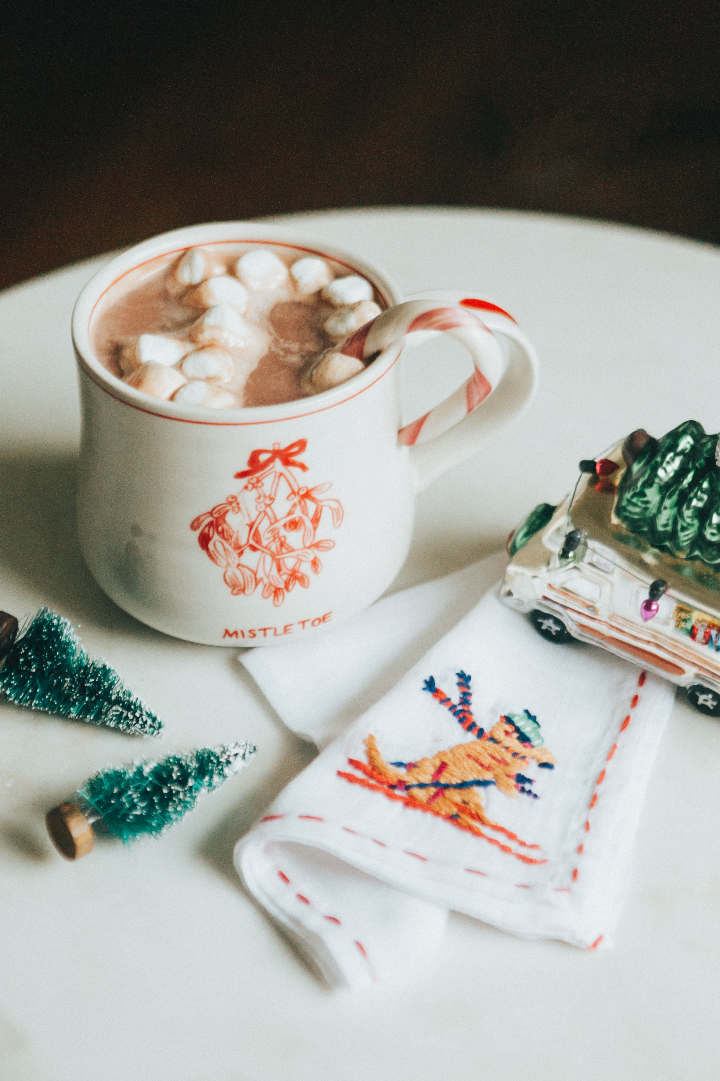 We will be making a hot cocoa station for Christmas Eve.