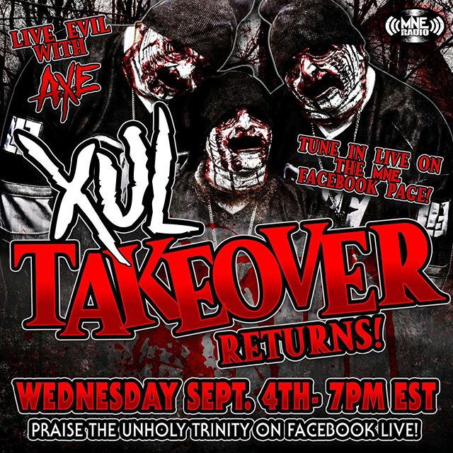 Tonight! Tune in to the @majikninjaentertainment Facebook page at 7PM EST! The @allaxulelu will be taking over the airwaves! #xultakeover #mneradio