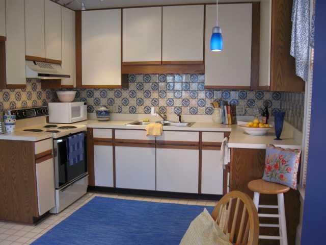 Devereux Street: kitchen (before)