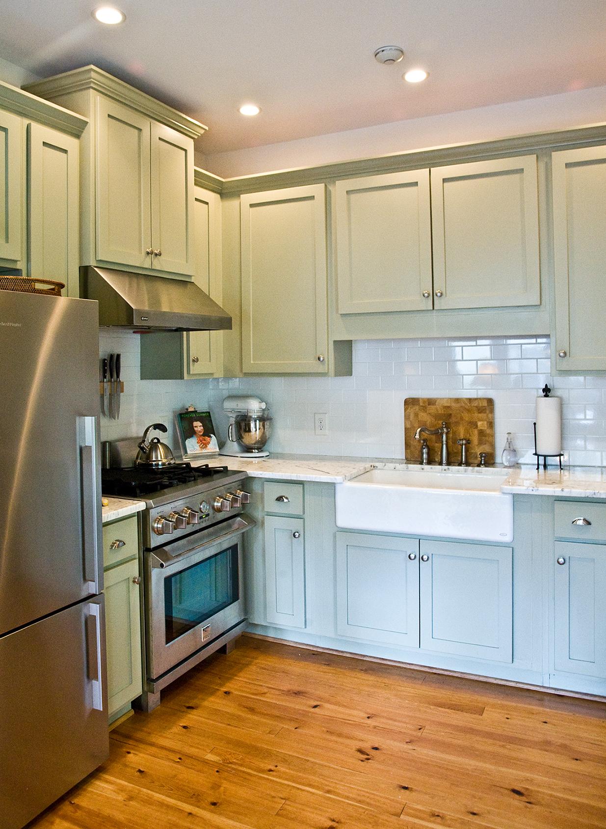 Devereux Street: Kitchen (after)