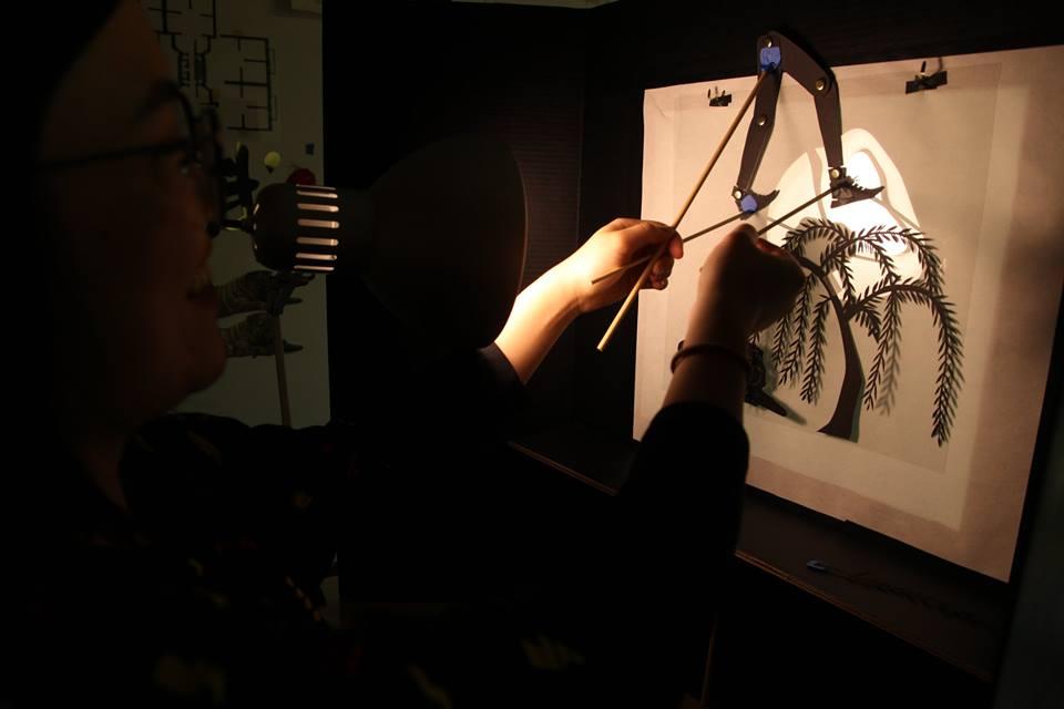 November Make & Film Shadow Puppets Workshop Photo by Benjamin Lundberg Torres Sánchez