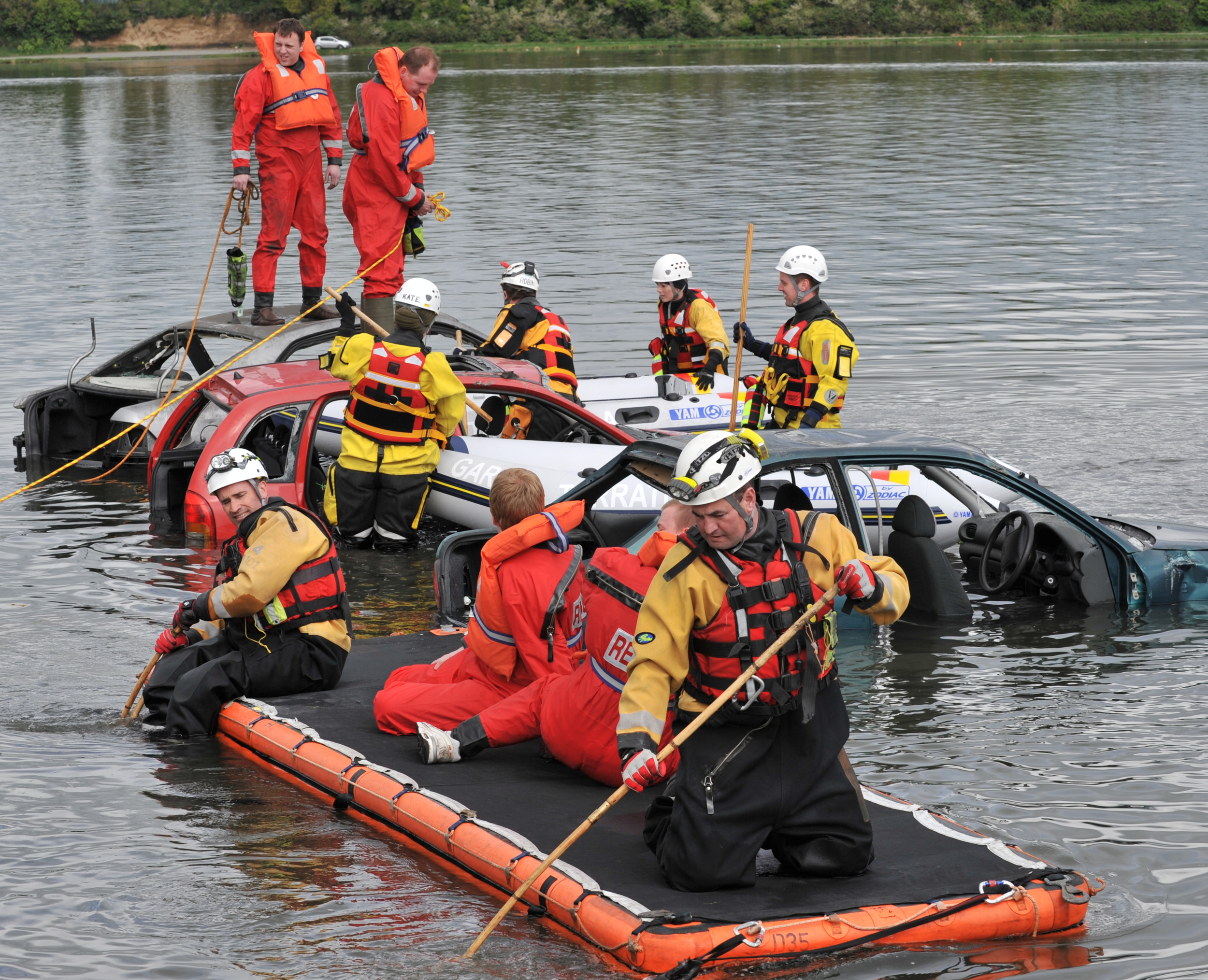 Malahide Flood Exercise 2011