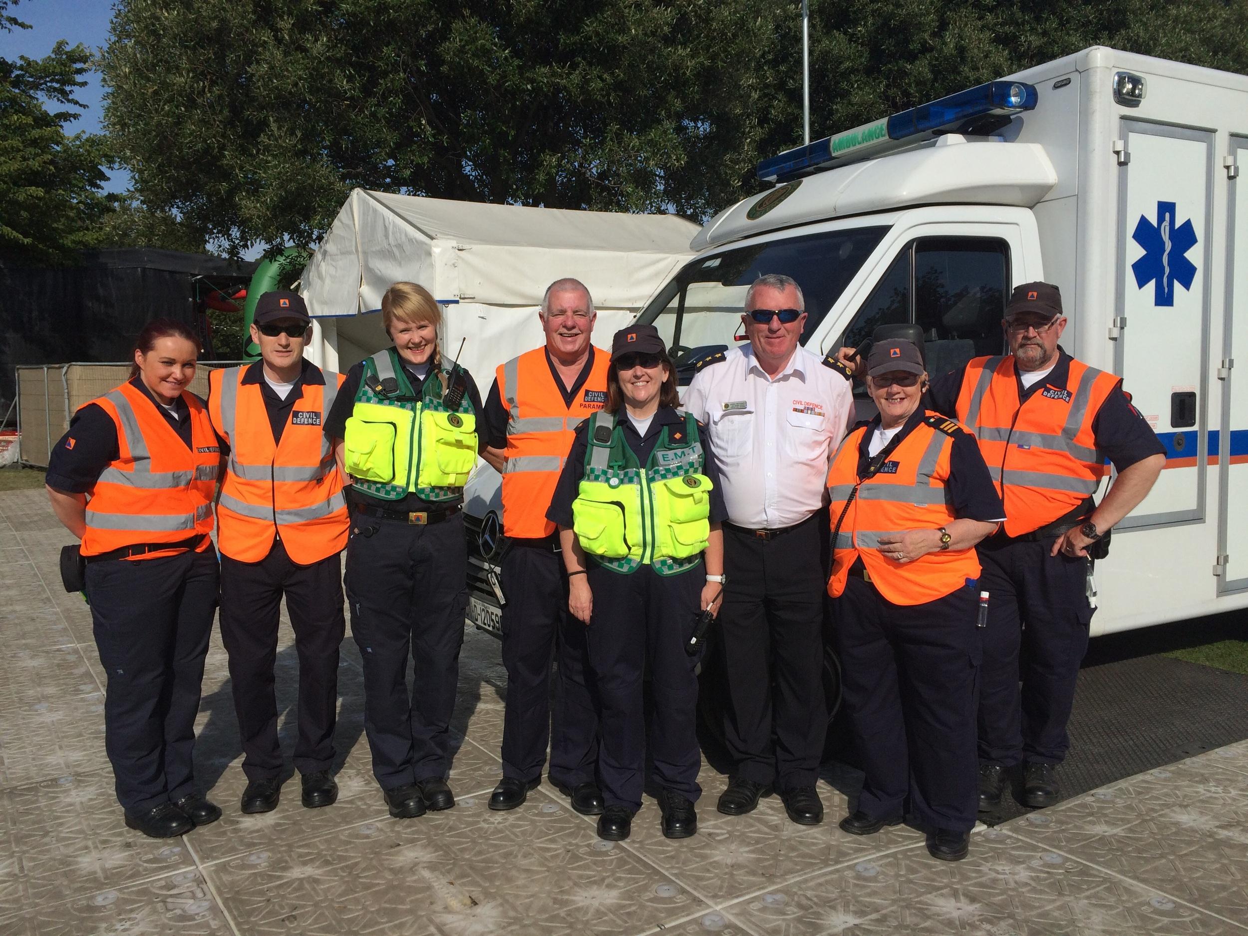 First Aid Crew on Thursday.