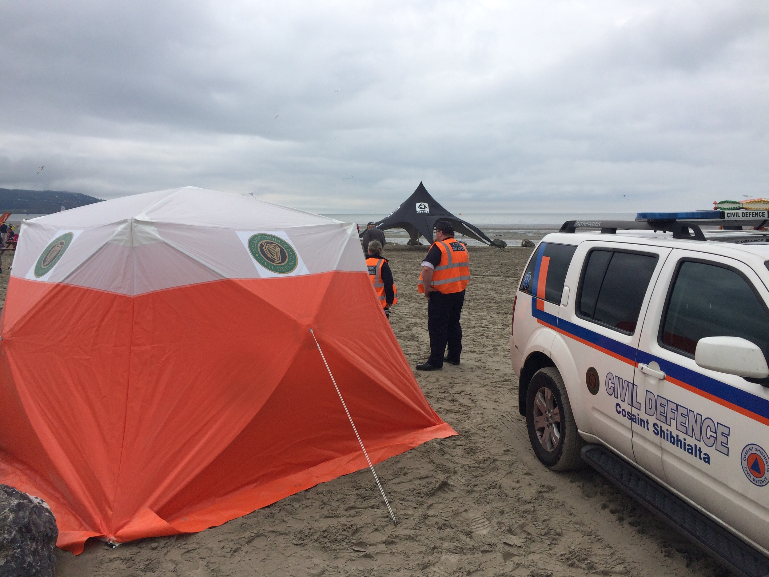 Pop up First Aid Tent