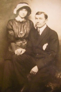 R.W. Weiss and Marion his wife