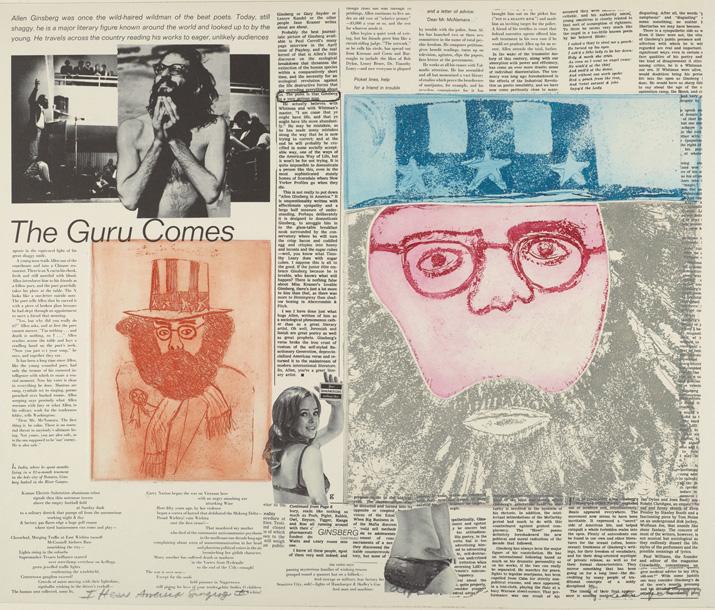 Sid Chafetz, I Hear America Singing II, lithograph, etching, printmaking, Sherrie Gallerie