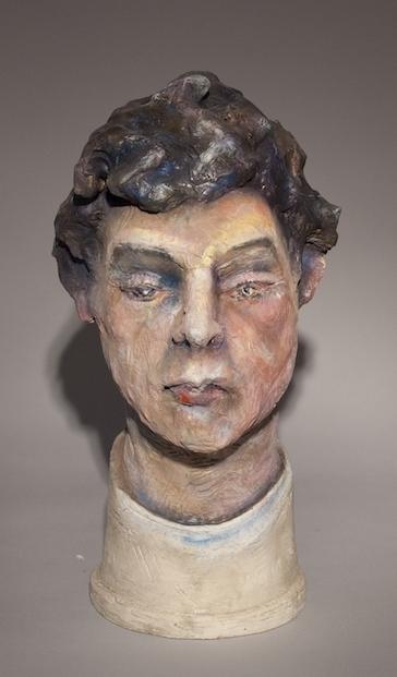 Jack Earl, I Wasn't Always Who I Am, figurative, ceramic, Sherrie Gallerie