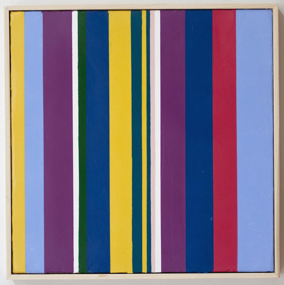 Christian Faur, It's Raining Salt, encaustic, painting, contemporary art, Sherrie Gallerie