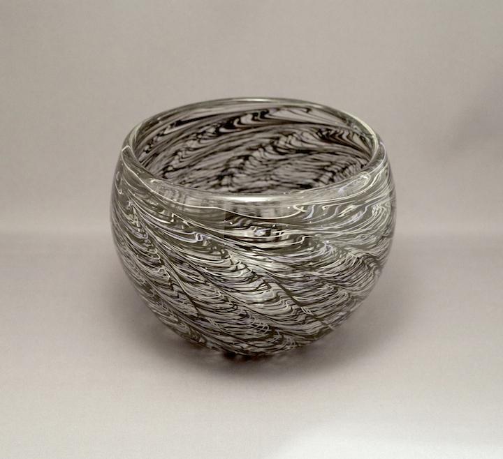 Trey Snowdon, Incalmo Bowls, blown glass, functional, Sherrie Gallerie