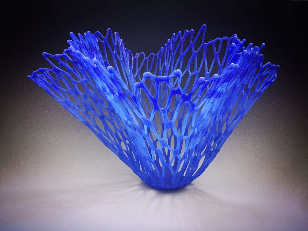 "Lauren Eastman Fowler, ""Vitre Flora B2,"" glass, 11.5x18x16.5 in"