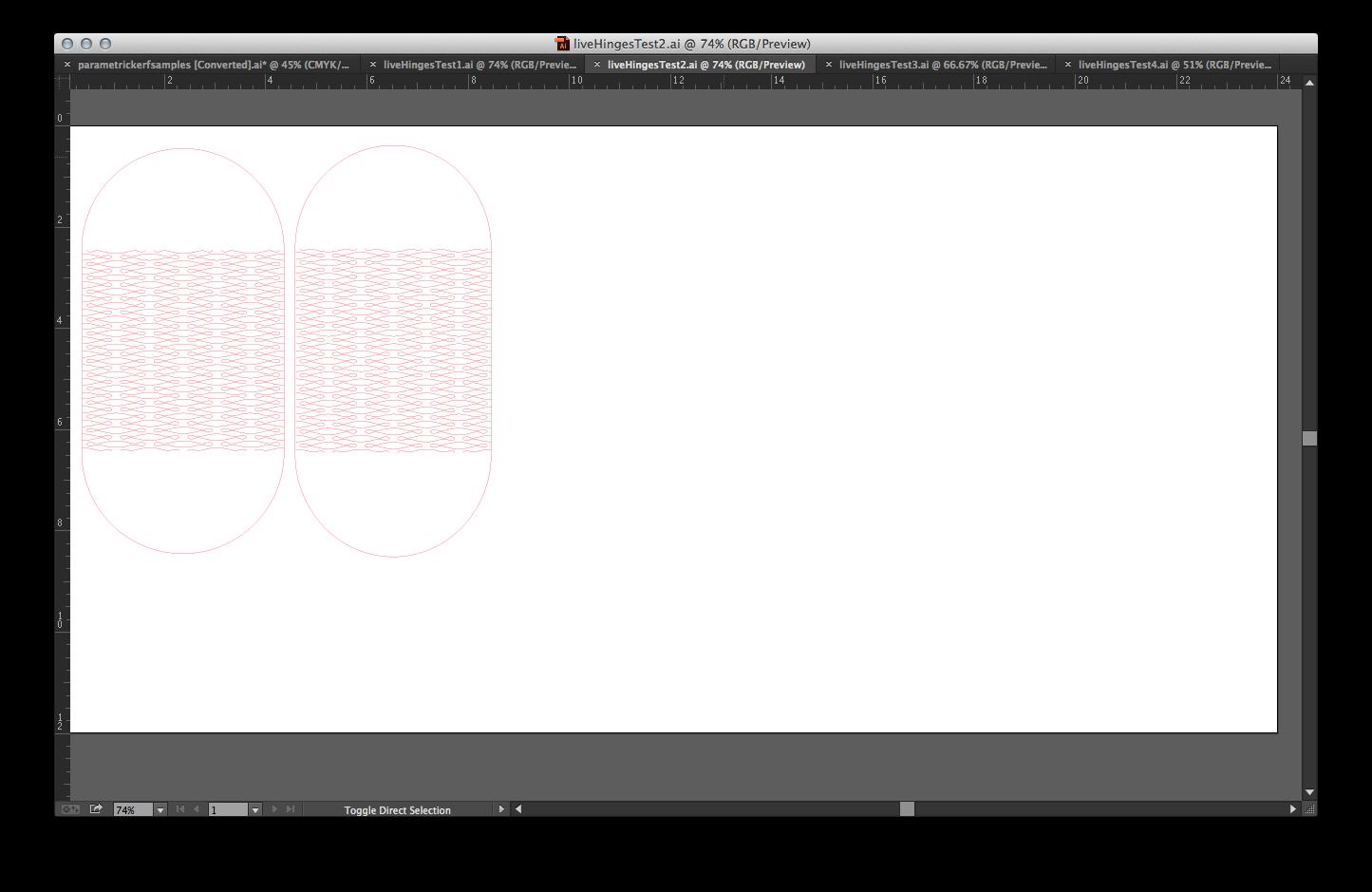 First prototype's Illustrator file