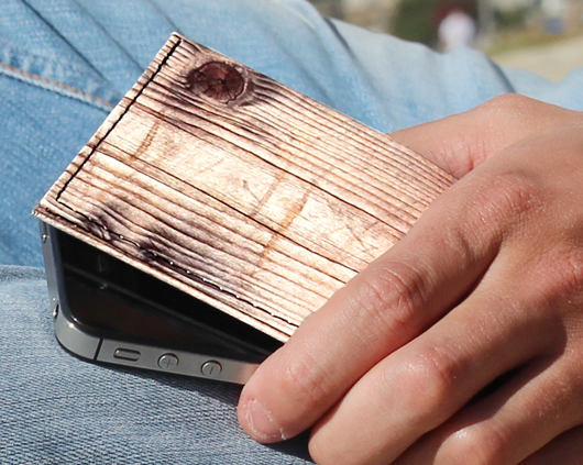 Dynomighty Tyvek®Billfold - Wood