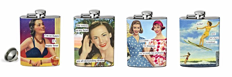 Ladylike Stainless Steel Flasks