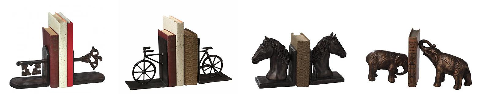 Sculpture Bookends