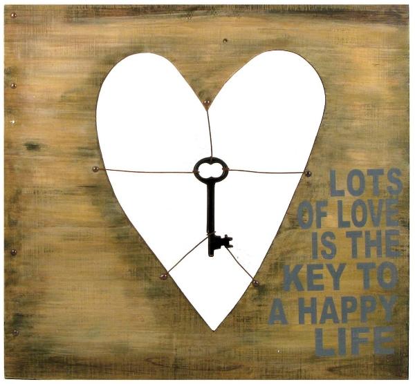 Heart Key Sign