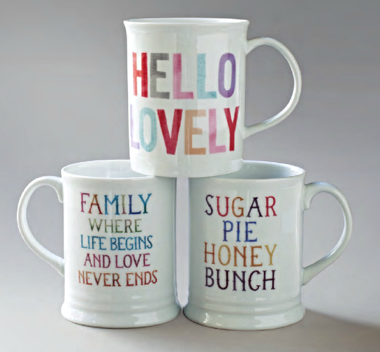 Classic Quoted Mugs