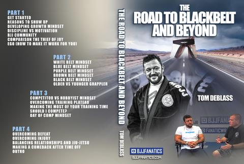 New course from Tom Deblass covers everything mindset on the journey from white to black belt and everything in between.