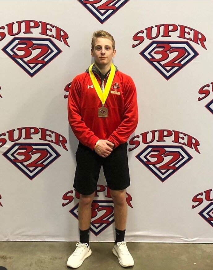 Dylan Cedeno (Bergen Catholic HS / Bitetto Trained WC) knocked off several nationally ranked wrestlers enroute to a 4h place finish at Super 32.
