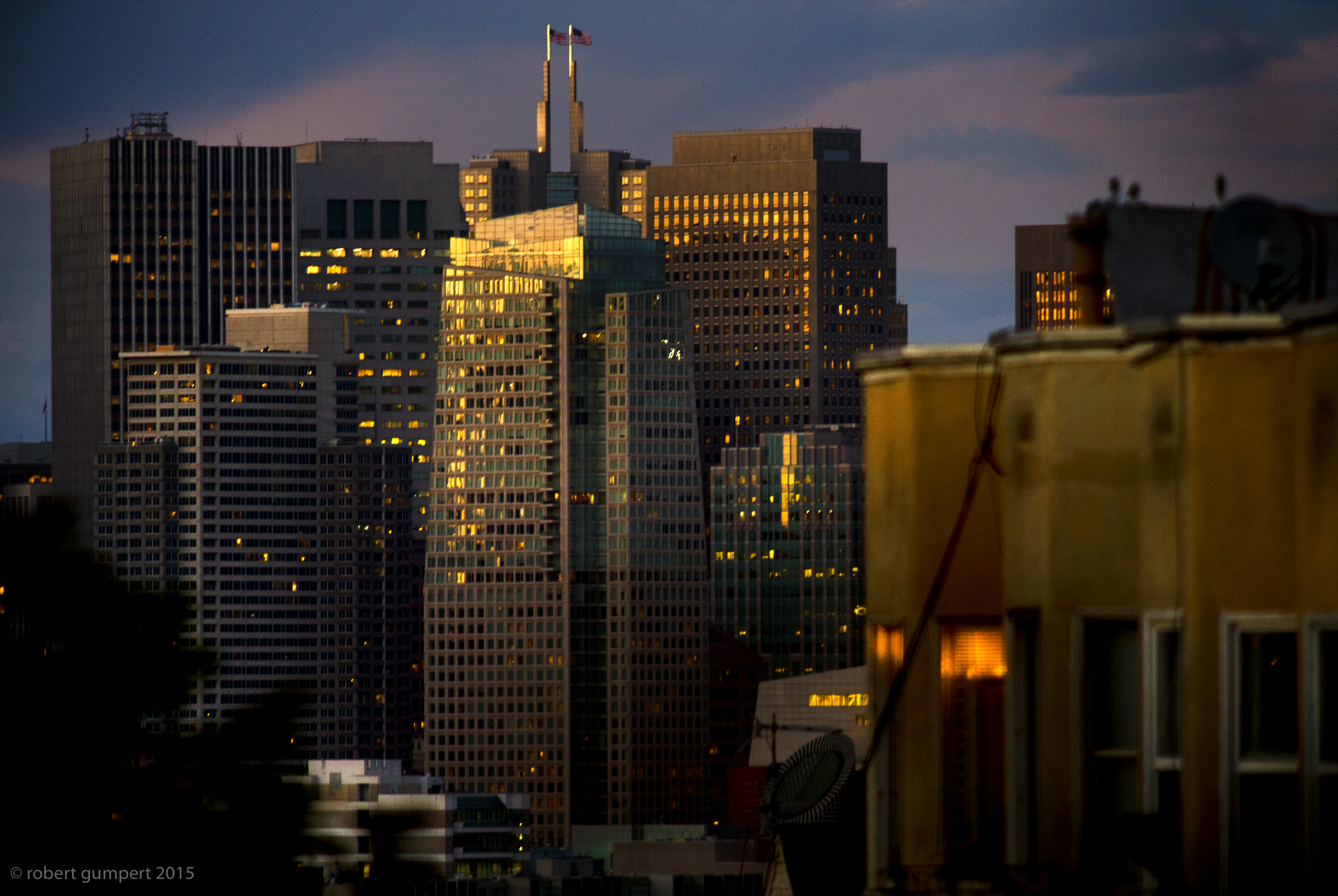 19 October 2015: Downtown SF from a Potrero Hill backyard