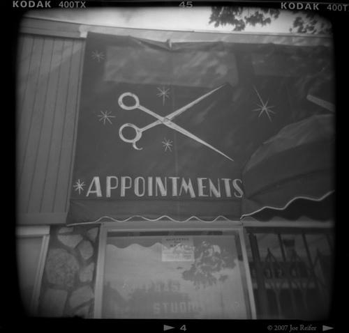 Appointments -- by Joe Reifer