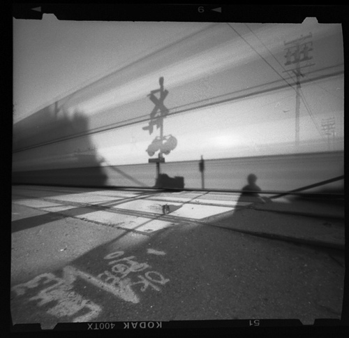 By the tracks -- by Joe Reifer