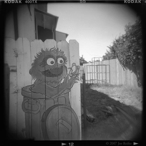 Oscar the Grouch -- by Joe Reifer
