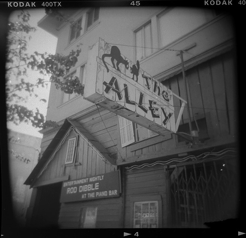 The Alley -- by Joe Reifer