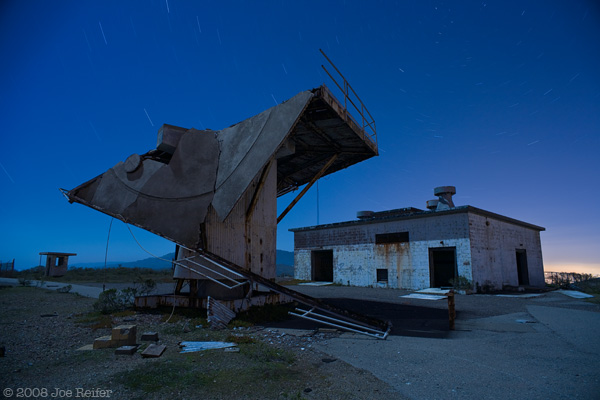 Radar Tower (#25, collapsed) -- by Joe Reifer
