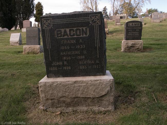 Bacon Lies Down With Lamb -- by Joe Reifer
