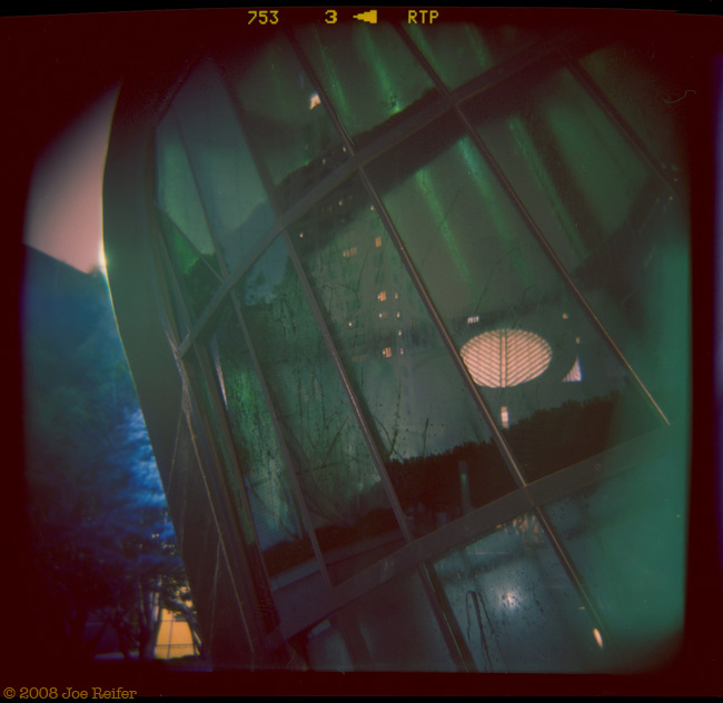 San Francisco Yerba Buena Gardens Night Abstract #3 -- by Joe Reifer
