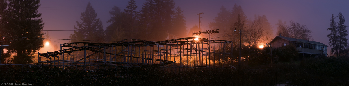 Mad Mouse Rollercoaster -- by Joe Reifer