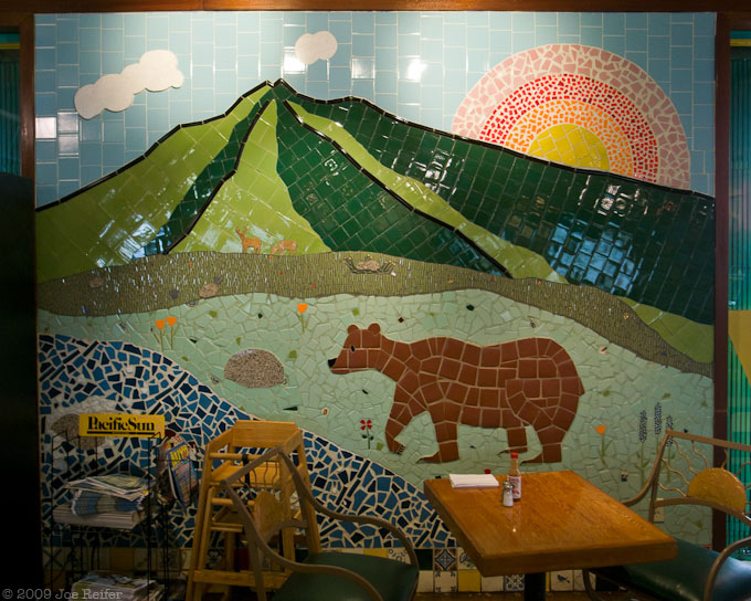 Tacqueria mural -- by Joe Reifer