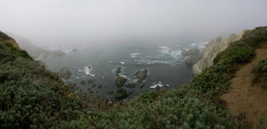 Cliffs near Tomales Point -- by Joe Reifer