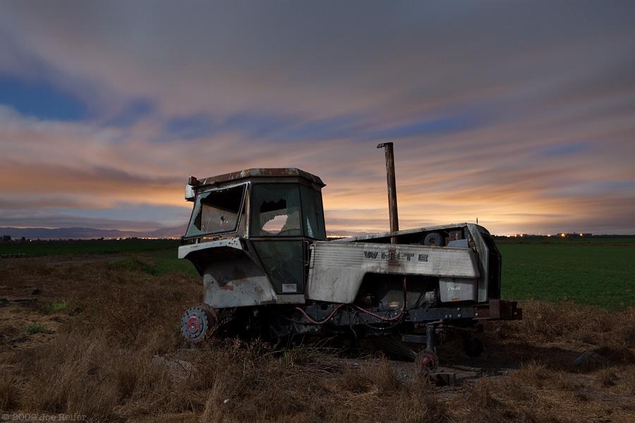 White Tractor -- by Joe Reifer