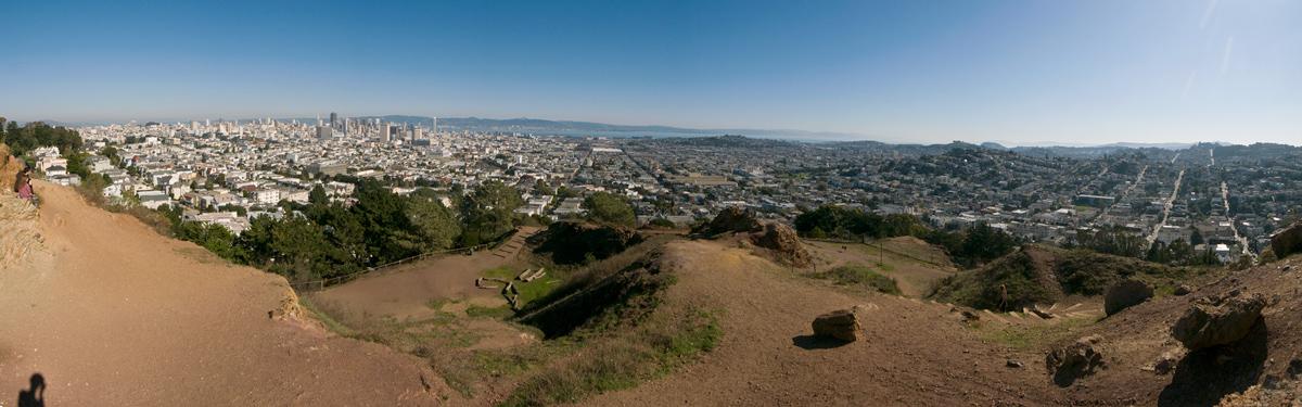 Buena Vista Park Panorama -- by Joe Reifer