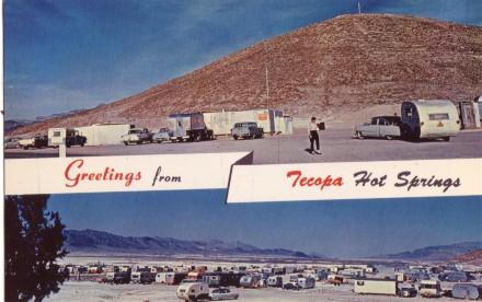 Greetings from Tecopa Hot Springs