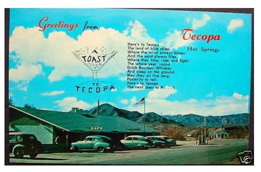 A Toast to Tecopa